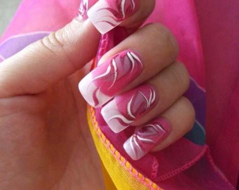 Роспись на ногтях