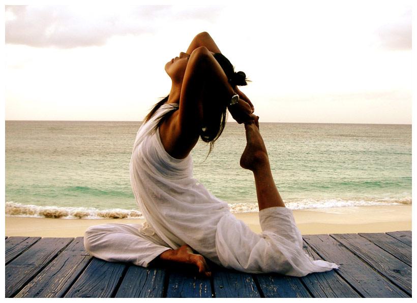 убрать вес с помощью йоги