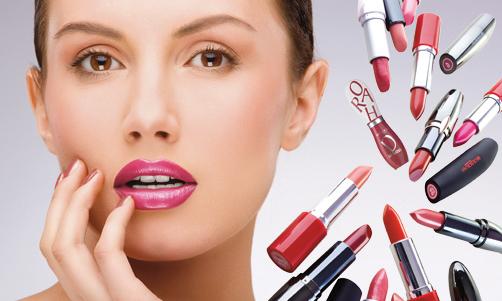 макияж губ фото