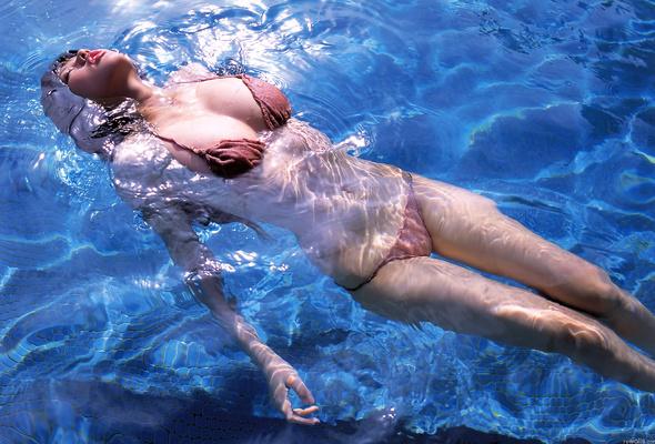 похудеть в воде