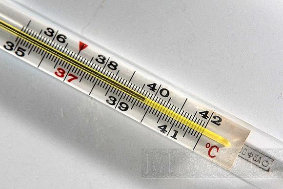 сбить  температуру